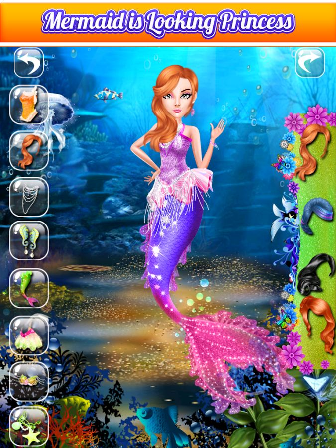 Mermaid Salon - Mermaid Games – Capture d'écran