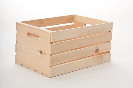 "18"" Wood Crate for sale at Walmart Canada. Find Home & Pets online for less at Walmart.ca"