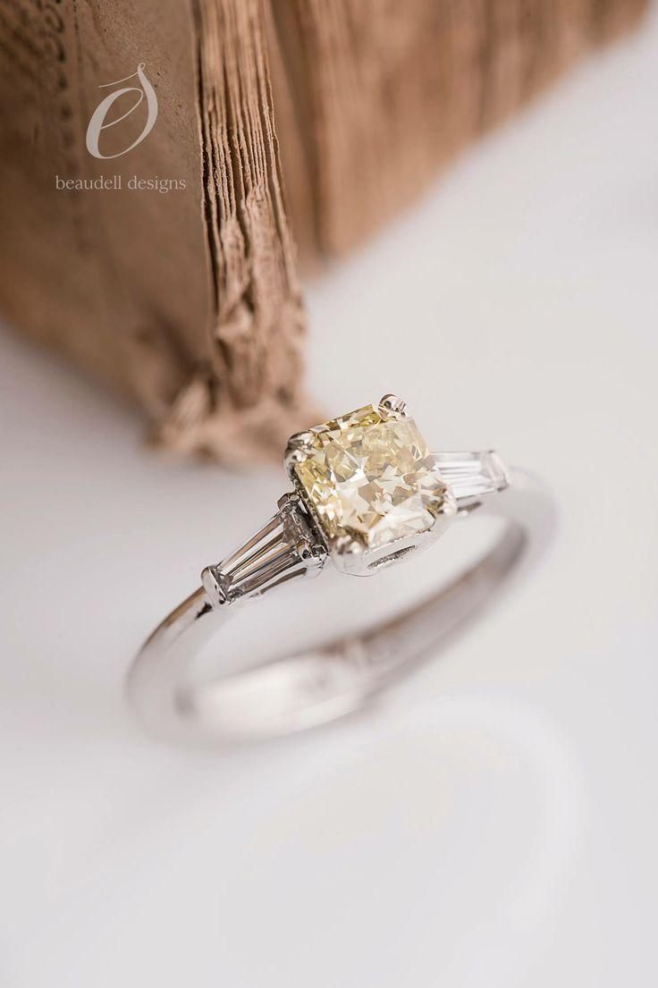 Yellow Diamondswedding Ringsengagement Ringsdesignweddingswhite Gold