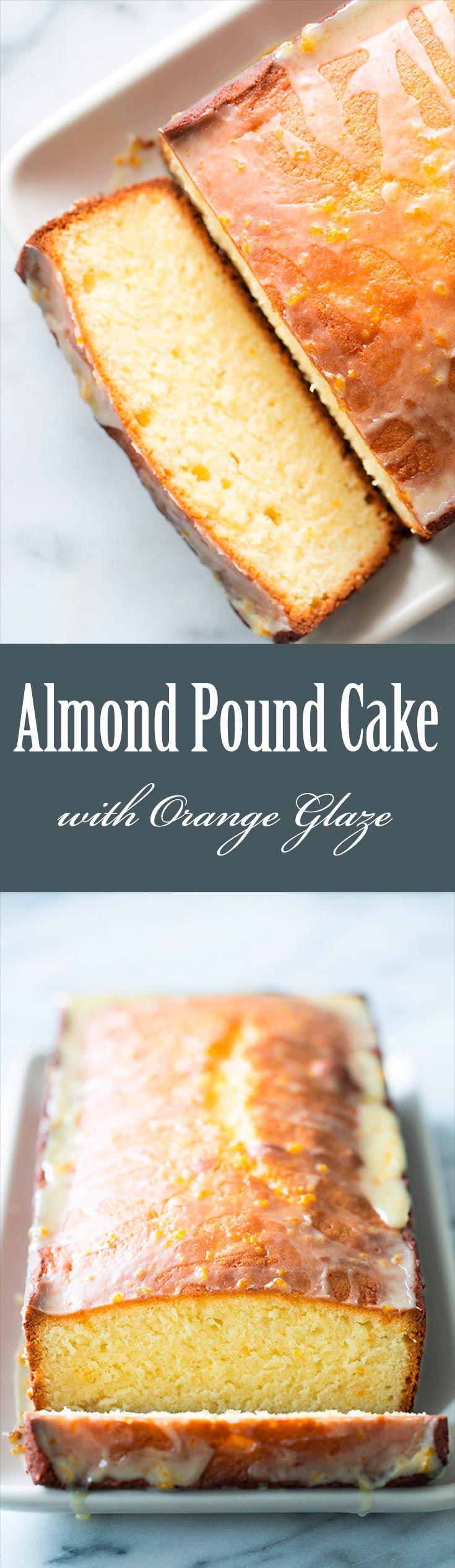 Orange blossom pound cake recipe