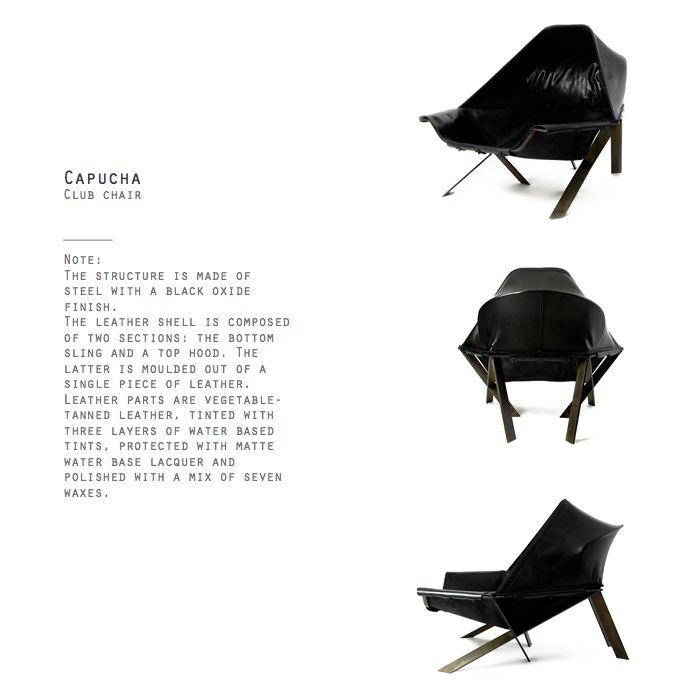Capucha Club Chair by Khourianbeer.
