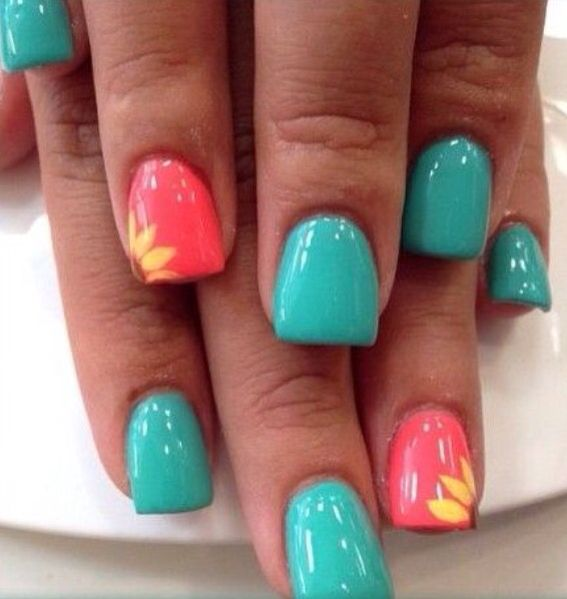 21 of the Cutest Spring Nail Designs on Pinterest Right Now