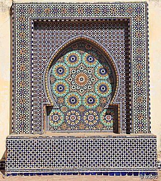 Mosaik in Marokko