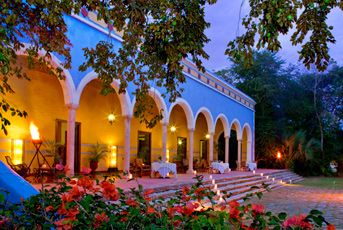 Hacienda Santa Rosa. A tranquil monument to a gilded age now all but forgotten, when cultures came together and beauty prevailed.