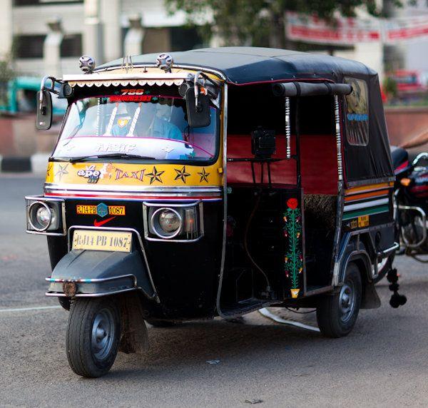 indian rickshaw taxi