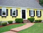 exterior paint color schemes for yellow houses - Bing Images