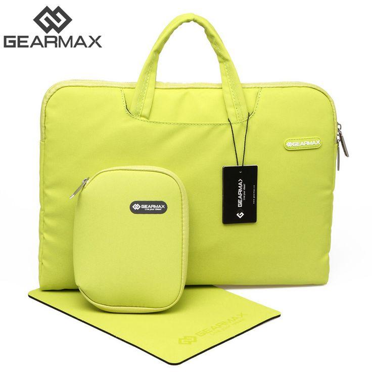 2016 GEARMAX Laptop Bag 11 - 15.6 Waterproof Nylon Laptop Case 13 Men's Notebook Bag for Macbook Air 13 Pro Women Messenger Bags
