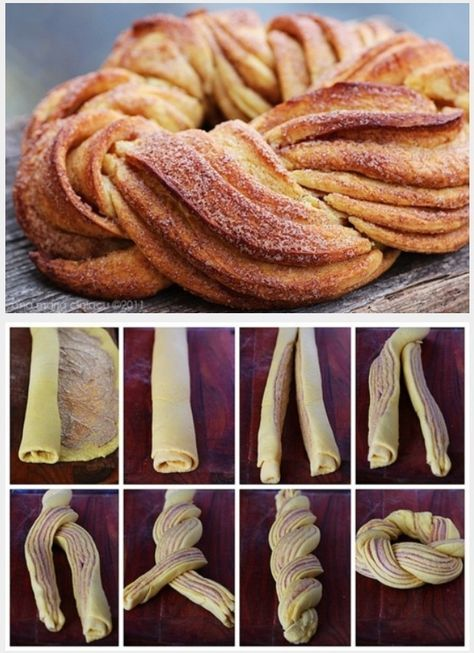 Cinnamon Sweet Bread. Pan de canela