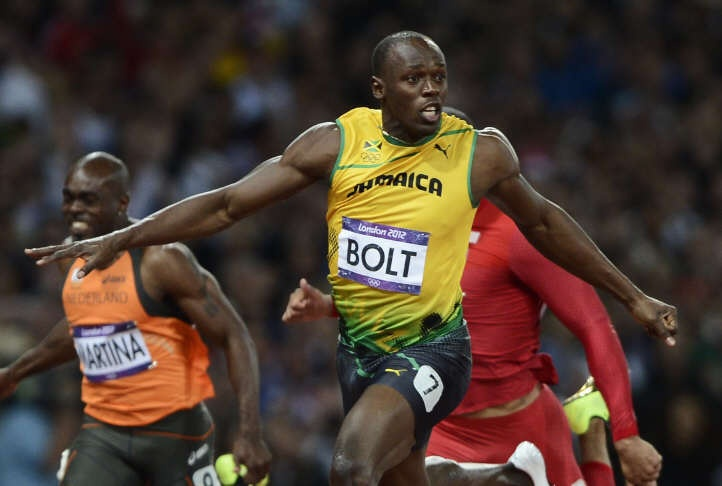Usain Bolt. Number 1. JO 2012. Jamaïque. (Reuters)