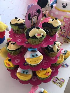 Cupcakes mickey baby