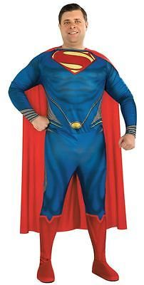 #Adult superhero man of #steel superman plus size mens #fancy dress party costume,  View more on the LINK: http://www.zeppy.io/product/gb/2/191870850295/