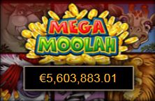 At PlatinumPlay online casino (Microgaming) the Mega Moolah jackpot is now over €5,600,000 http://bit.ly/1l9fvSG