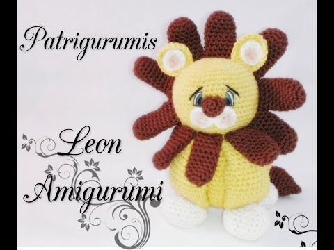 DIY León Amigurumi en ganchillo- Crochet - YouTube
