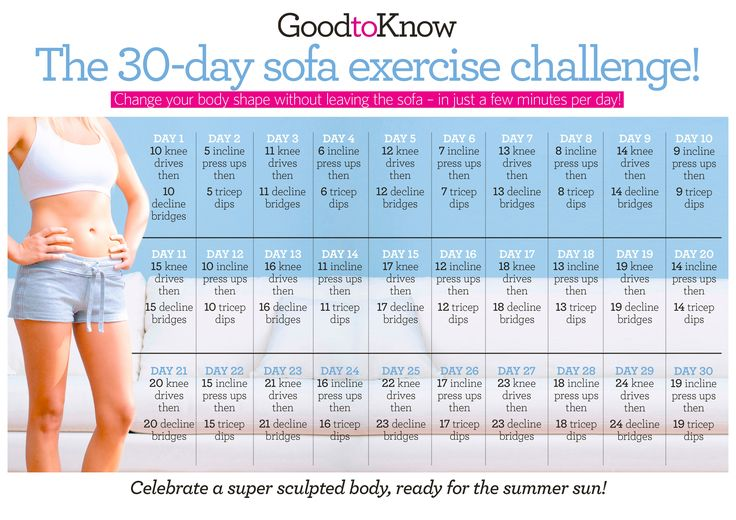 images about 30 day fitness challenges on Pinterest | Squat challenge ...