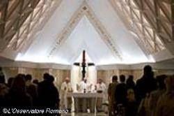 HOMILIAS DEL PAPA FRANCISCO: Nos salva la necesidad de ser curados por Dios-Papa Francisco