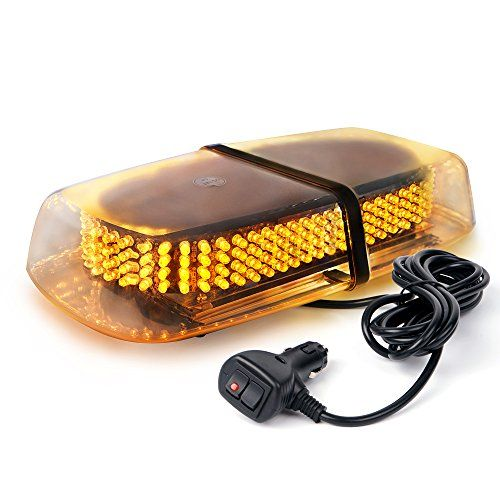 Xprite Amber 240 LED Roof Top Mini Bar, Truck Car Vehicle Law Enforcement Emergency Hazard Beacon Caution Warning Snow Plow Safety Flashing Strobe Light with Magnetic(Other Color Available) #Xprite #Amber #Roof #Mini #Bar, #Truck #Vehicle #Enforcement #Emergency #Hazard #Beacon #Caution #Warning #Snow #Plow #Safety #Flashing #Strobe #Light #with #Magnetic(Other #Color #Available)