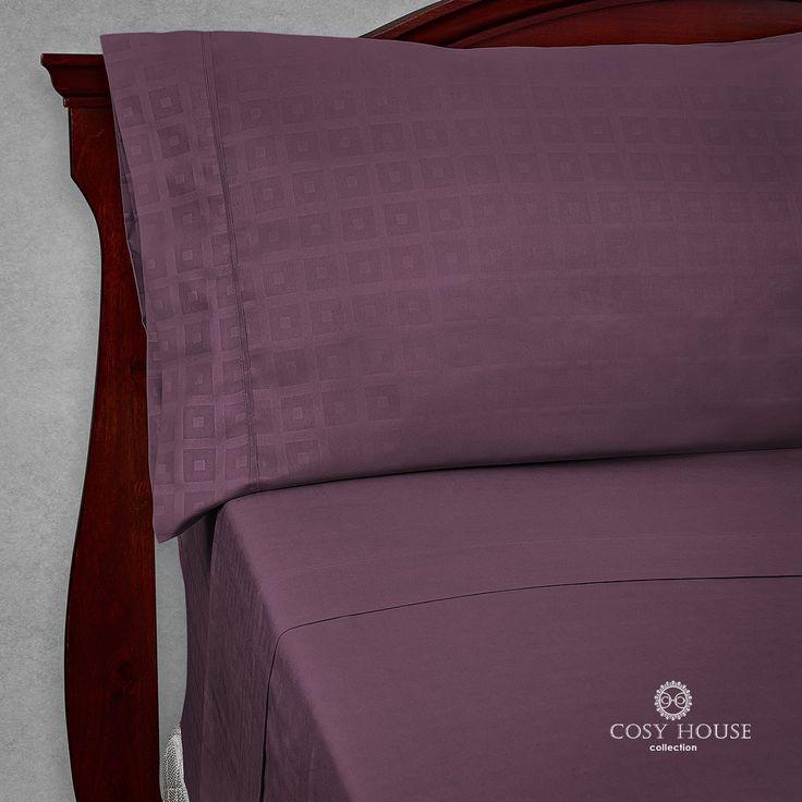Elegant Designer Bed Sheets Set 6 pc - Soft High Quality Patterned 1800 Brushed Microfiber Bedding