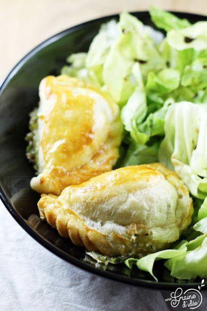 Empanadas au Brie de Meaux et aux Herbes - Une Graine d'Idée