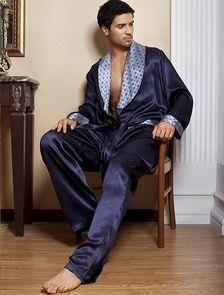 Мужскоие брюки и кимоно шелковое