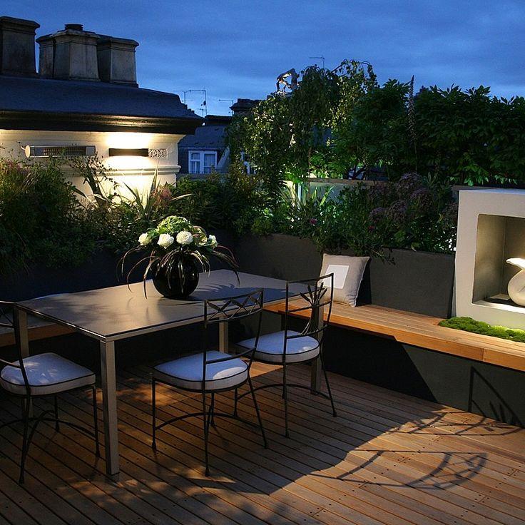 Roof Garden Design Kensington