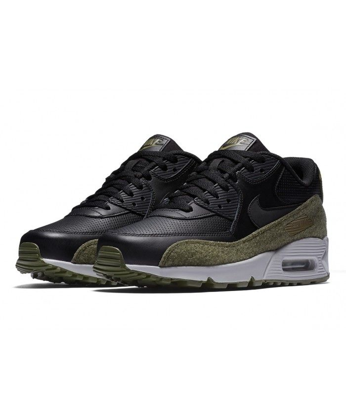 Nike Air Max 90 Hal New Black Medium Olive Trainers Sale ,Nike exclusive  sponsorship of