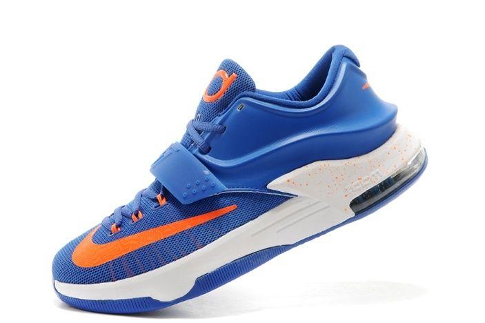 Nike Air Jordan MensNike Air Jordan Mens Nike Zoom KD V Nike Zoom KD VII 7 Mens Skor Bla Orange Ny Special 01