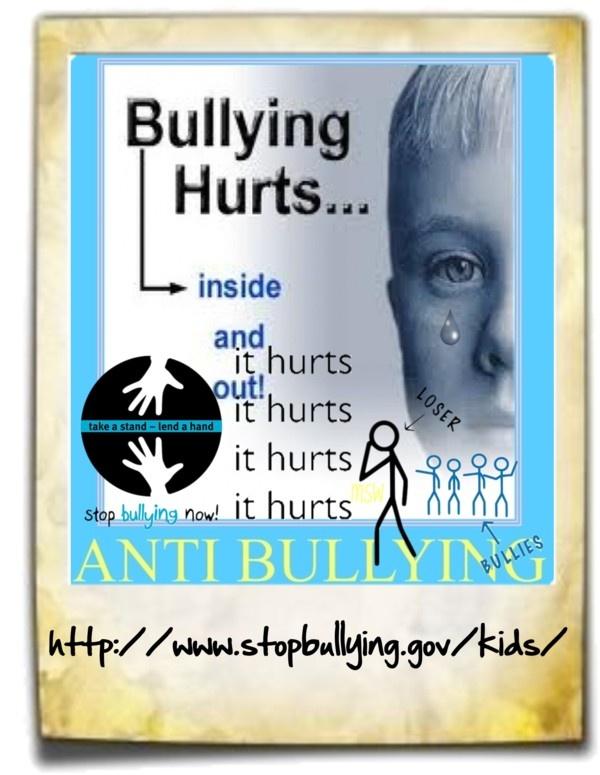 Kids bullied? Antibullying story co-written by #bulliedchild. Ty The Bull  http://amzn.com/B00LK572S2