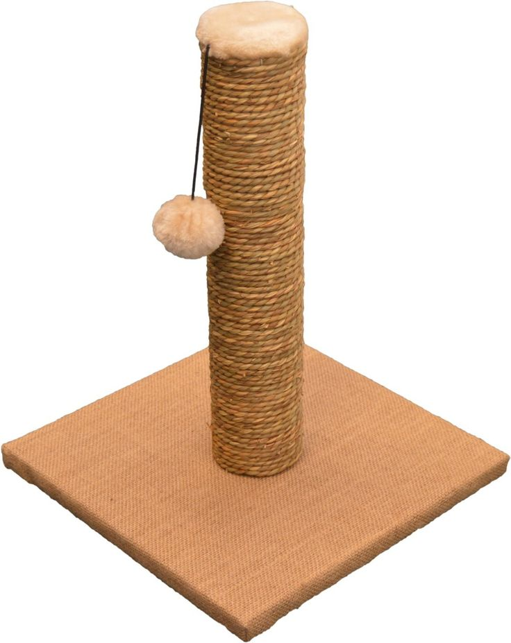Cat Scratching Tree Scratch Post - 37cm Tall - 28 x 28cm Base *** Check out this great image  : Cat Tree