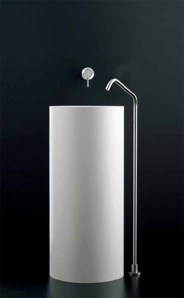 CEA Design | mini collection single lever mixer and deck mounted basin spout