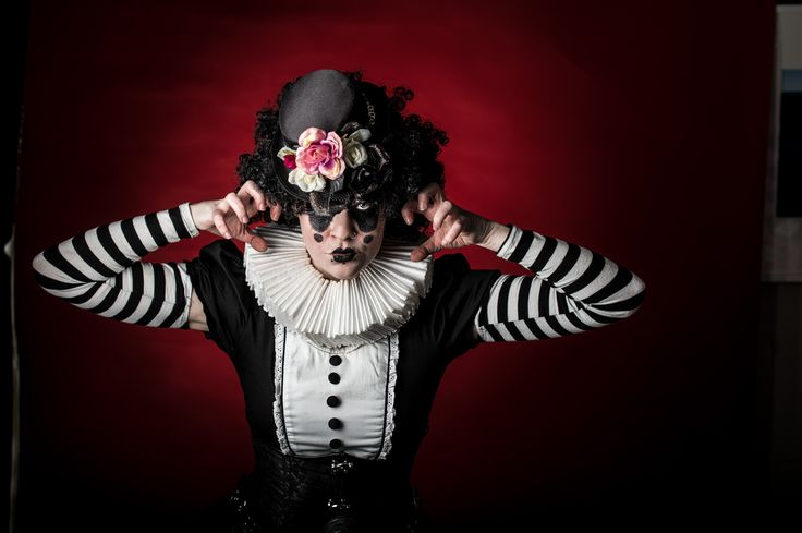 Creepy Clown by Bruce Jenkins Photography for Cherry Boomb Productions #BruceJenkinsPhotography #Clown #circus #freaky #CherryBoomb