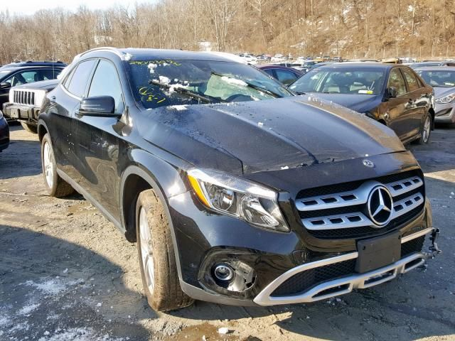 2018 Mercedes Benz Gla Certified Gla250 4matic Awd Blind Spot
