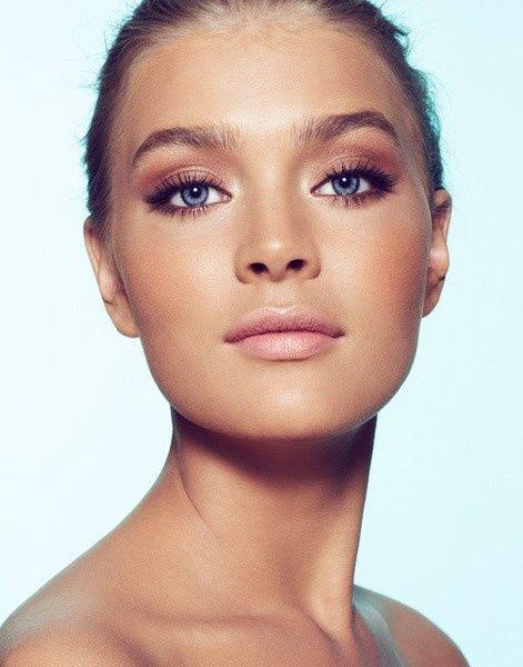 : Natural Makeup, Make Up, Eye Makeup, Summer Makeup, Blue Eye, Makeup Looks, Eyemakeup, Wedding Makeup, Natural Looks