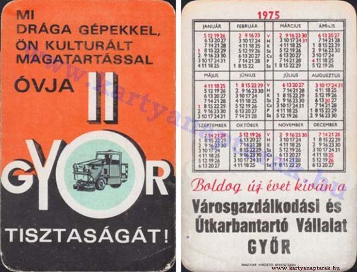 1975 - 1975_0803 - Régi magyar kártyanaptárak
