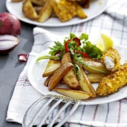 Fish And Chips Cucina Pinterest Fish Air Fryer Recipes And