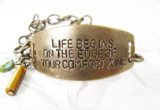 Life Begins on the Edge of your Comfort Zone by CobwebCorner