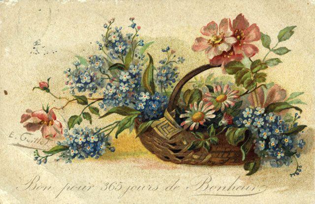Laminas y trabajos con flores es facil laminas y flores - Laminas antiguas para cuadros ...