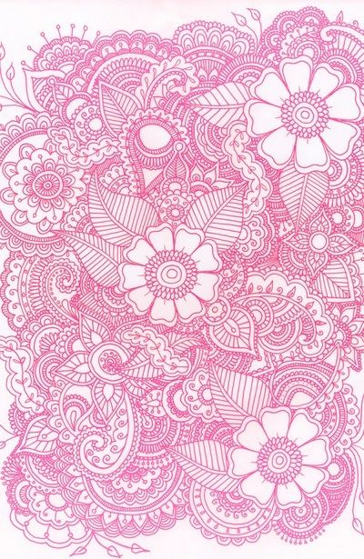 Pink and white girly floral iPod or iPhone wallpaper | PRINTABLES ...