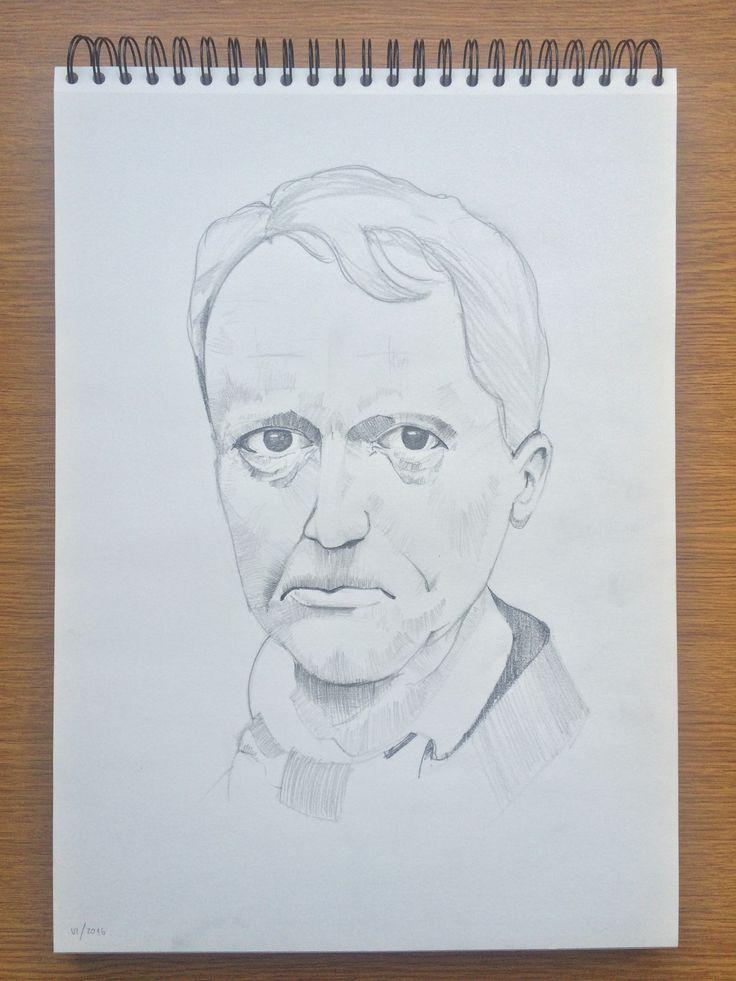 Man 2016 / paper / pencil