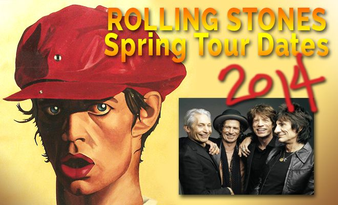Rolling Stones Tour   Gibson) The Rolling Stones will resume their world tour in May in ...
