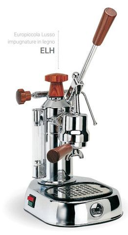 La Pavoni espresso machine - the Ferrari of coffe makers - now available from proskitchensupply.com