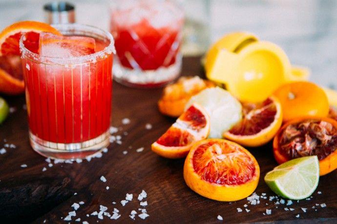 Délice vodka vanille et orange sanguine pour animer votre atelier cocktails