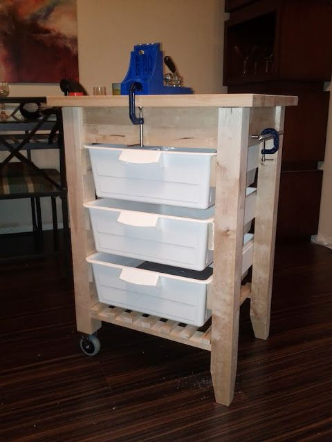 IKEA Hackers: Portable Workbench, This Would Be Excellent For Holding  Painting Supplies!