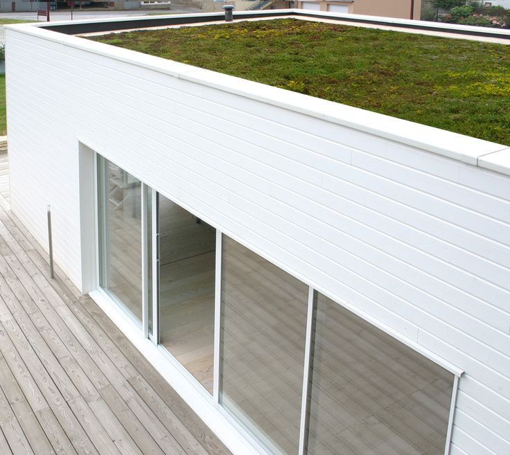 9 best Bardage exterieur images on Pinterest Container, Facades - enduit ciment blanc exterieur