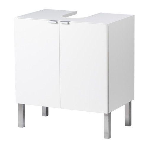IKEA - LILLÅNGEN, Kast voor wastafel met 2 deuren, 60x38x66 cm,
