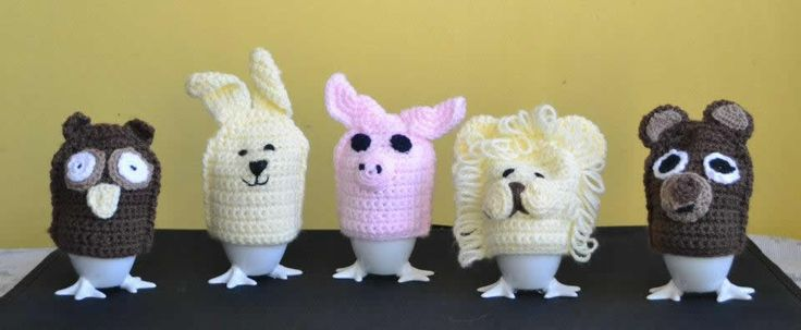 Which animal would you like on your eggs, owl, rabbit, piggy, lion or a bear