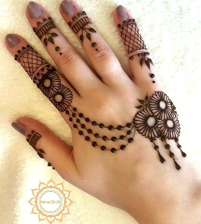 best and simple mehndi designs for hands