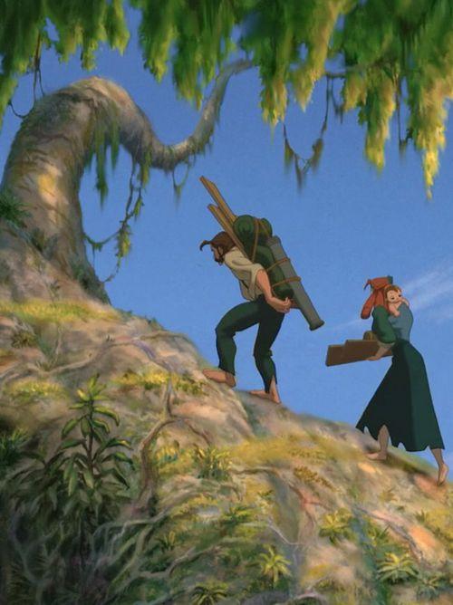 """""""Raise your head up, lift high the load"""", Tarzan"""