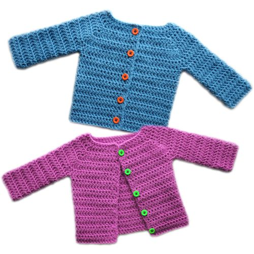 Classic Baby Cardigan Sweater - 5 Sizes - $5.95