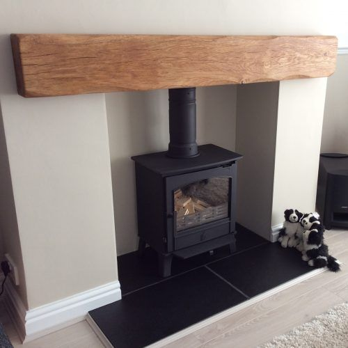 Oak Beam Fireplaces and Mantlepieces - Planed and Sanded • Celtic Timber