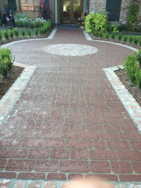 Gartenweg, Außen Gehweg, Veranda Boden, Vorgarten Anlegen, Heimwerkerbedarf  Für Den Außenbereich, Zufahrten, Gehwege, Ziegel Muster